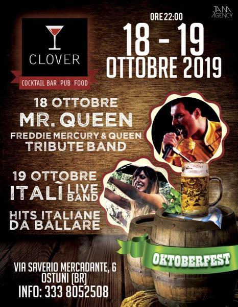 Oktoberfest Clover live