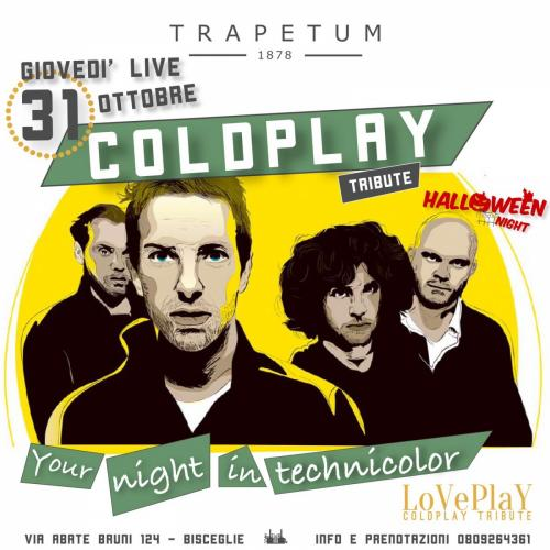 Halloween night - Coldplay tribute live a Bisceglie