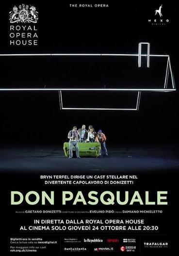 """In Diretta da Londra """"Don Pasquale"""" di Gaetano Donizetti"""