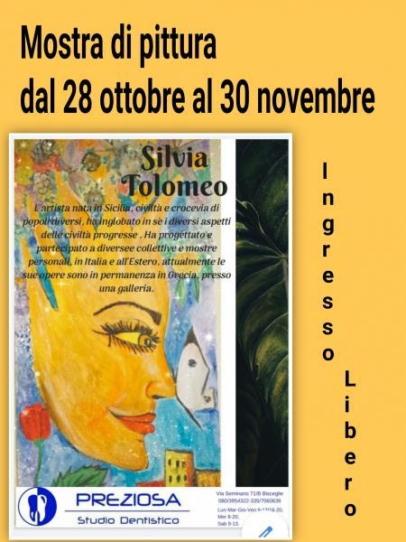 Mostra d'arte di Silvia Tolomeo