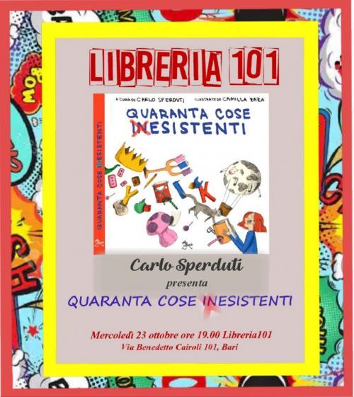 """Presentazione del libro per bambini """"Quaranta cose (in)esistenti"""""""