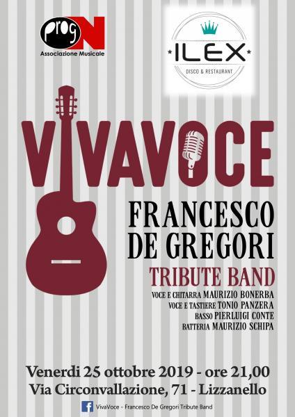 VIVAVOCE - Tributo a Francesco De Gregori