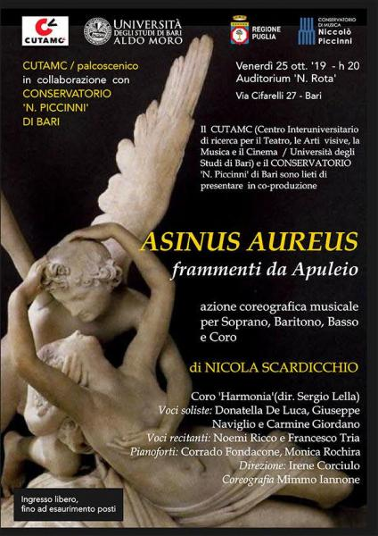 A Bari la versione rinnovata di Asinus Aureus