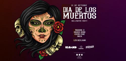 31/10 Dia de Los Muertos - Halloween Party all'UNA HOTEL Regina di Bari
