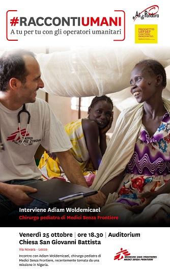 Racconti umani A tu per tu con gli operatori umanitari