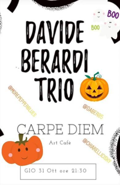 Davide Berardi trio, Halloween party...
