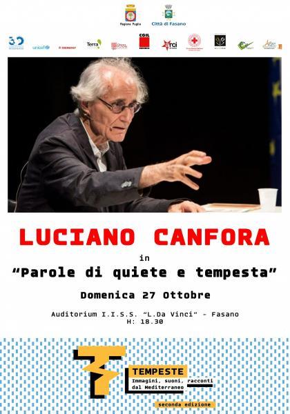 Parole di quiete e tempesta con Luciano Canfora