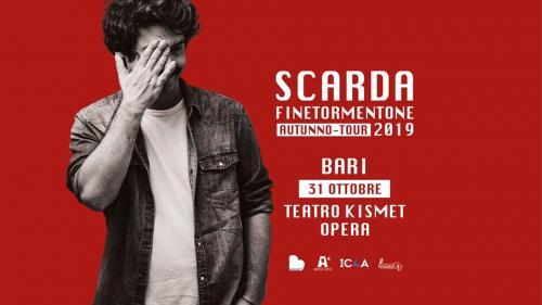 "Scarda live concert - ""Finetormentone"" Tour"