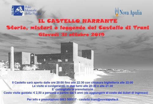 IL CASTELLO NARRANTE  Storie, misteri e leggende del Castello di Trani