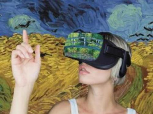Arte Virtuale Van Gogh + Monet Experience la mostra a Roma