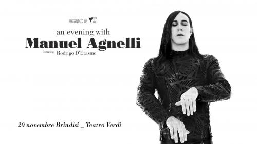 An Evening with MANUEL AGNELLI a Brindisi