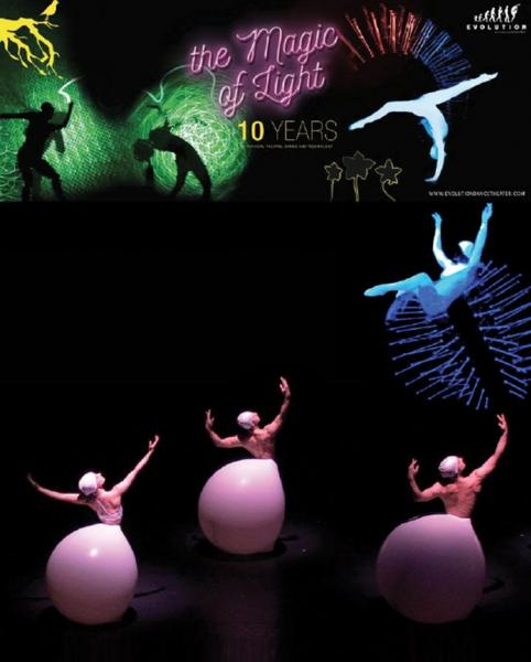 "Evolution Dance Theatre in ""The Magic of Light"""