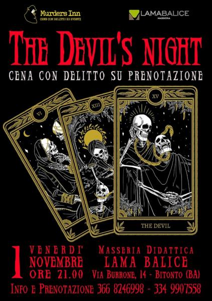 The Devil's Night - CENA CON DELITTO
