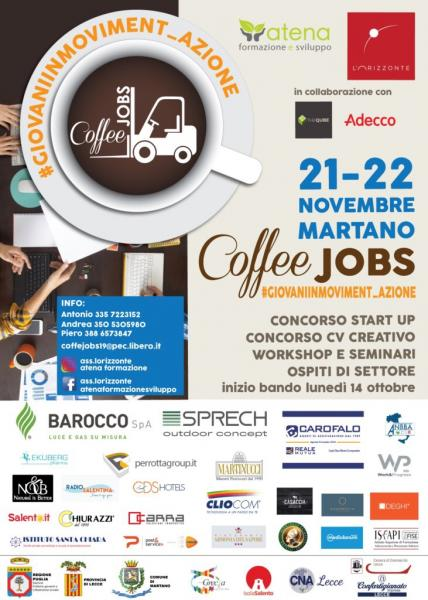 Coffee Jobs Martano - Giovani In Moviment_Azione
