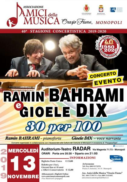Ramin Bahrami & Gioele Dix