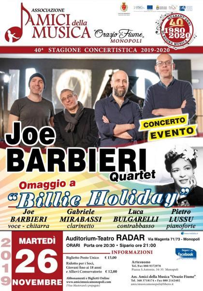 Joe Barbieri Quartet