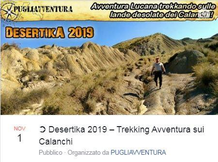 DESERTIKA - AUTUNNO 2019