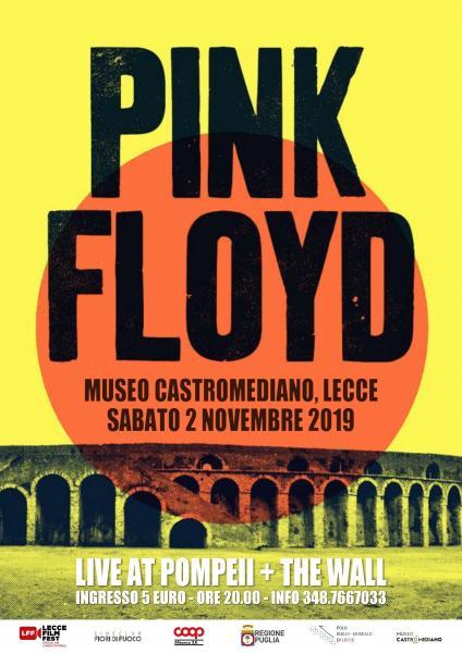 A Lecce una serata di cinema dedicata ai Pink Floyd
