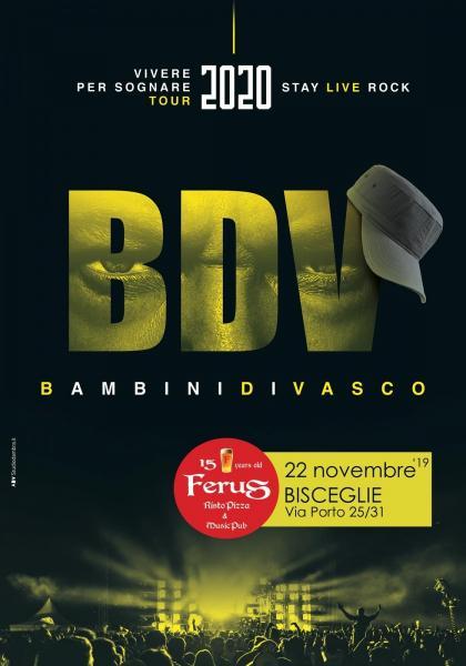 "Vasco Rossi Tribute live con ""i Bambini di Vasco"""