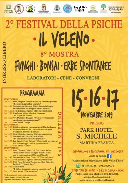 8° Mostra Micologica - 2° Festival della Psiche