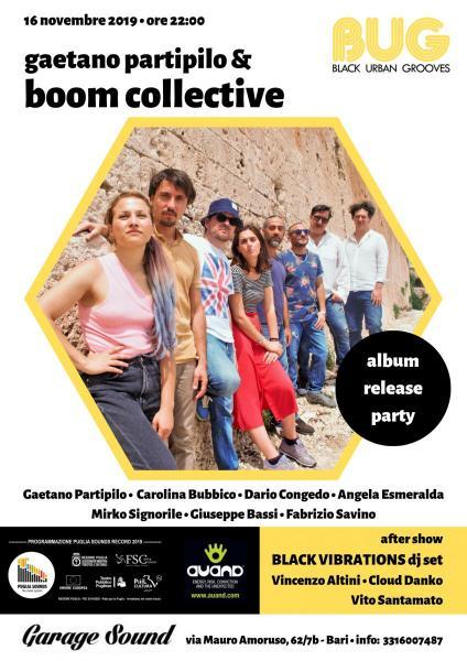 Gaetano Partipilo and BOOM COLLECTIVE  Album Release Party