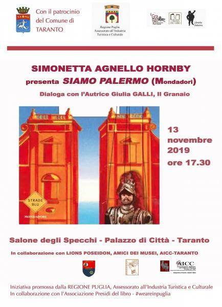 Incontro con Simonetta Agnello Hornby