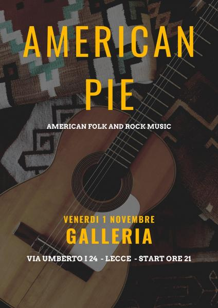 American pie folk duo