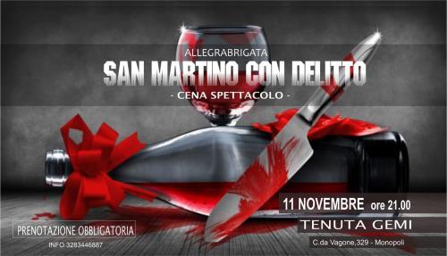 San Martino con delitto