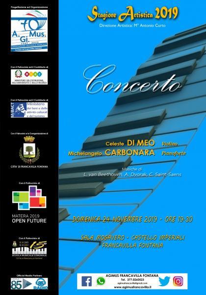 Concerto Duo - C. Di Meo (Violino)-M. Carbonara (Pianoforte)