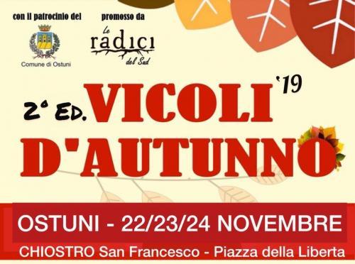 """""""Vicoli d'Autunno"""" - Ostuni - Musica, Food, Artigianato e Tradizioni"""