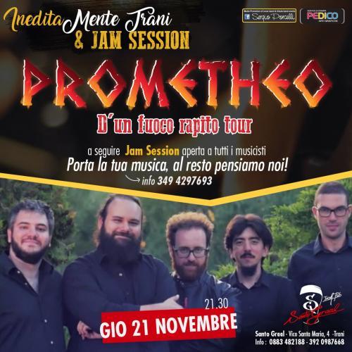 IneditaMente Trani & jam session -Prometheo in concerto