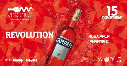 Ven 15.11 Revolution Campari Red Passion