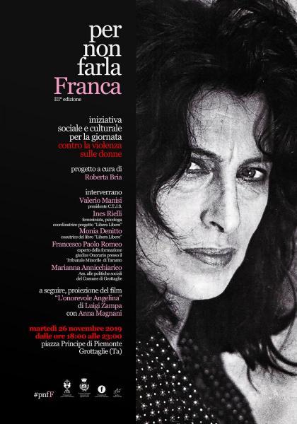 """""""Per nonfarla Franca"""" III° Edizione"""