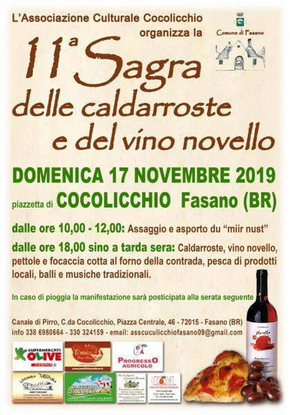11^ Sagra delle caldarroste e del vino novello
