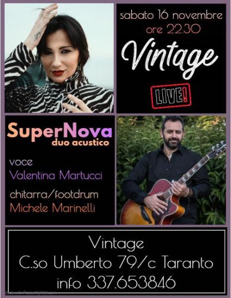 SuperNova Duo Acustico Live al Vintage