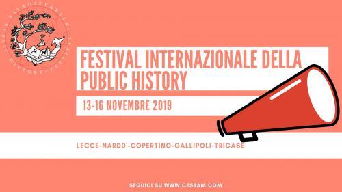 FESTIVAL INTERNAZIONALE DELLA PUBLIC HISTORY II ed.