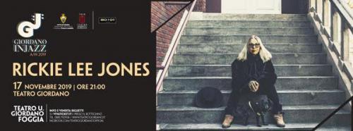 """Rickie Lee Jones live concert a Foggia per """"Giordano in Jazz"""""""