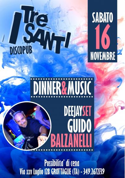 DINNER & MUSIC - deejayset Guido Balzanelli