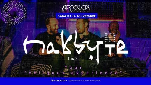 """I Nakbyte live al circolo Arci """"Artelica"""" di Soleto (LE)"""