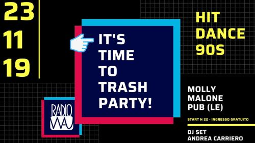Trash Party: tornano gli appuntamenti universitari di Lecce
