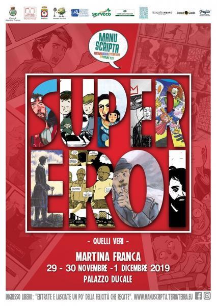 Manuscripta 2019 Festival della Letteratura a Fumetti