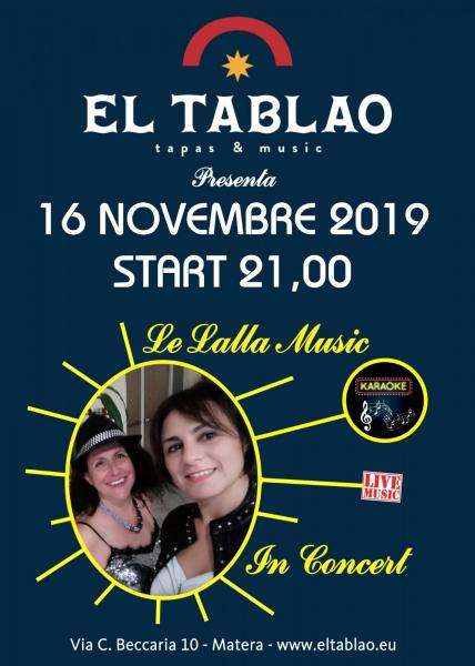 Lalla music in concert