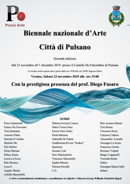 Biennale nazionale d'Arte Città di Pulsano II edizione