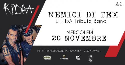 "NEMICI DI TEX "" Litfiba Tribute Band"""