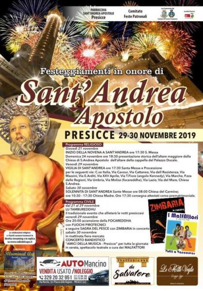 Festa di Sant'Andrea Apostolo