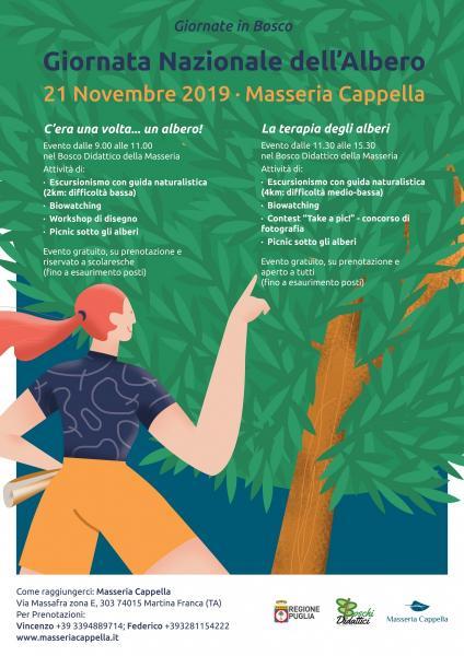 """""""Giornata Nazionale dell'Albero"""" l'evento promosso da Regione Puglia"""