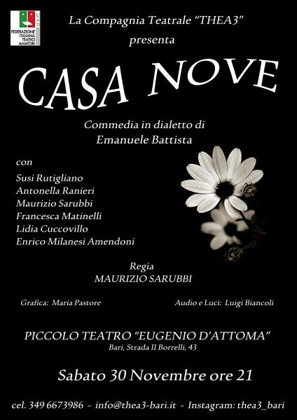 Commedia in vernacolo CASA NOVE  compagnia thea3
