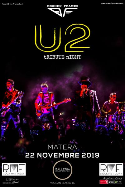 U2 Tribute Night by Broken Frames