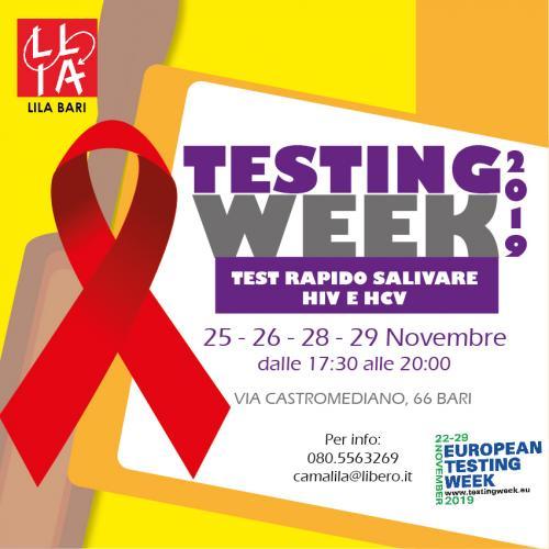 Test Now! Ecco la settimana europea del test per HIV ed epatiti virali