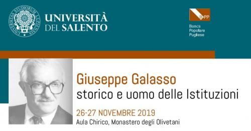 Giuseppe Galasso. Storico e uomo delle Istituzioni, il convegno a Lecce
